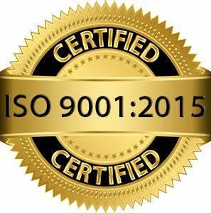 ISO 9001-15 Certified