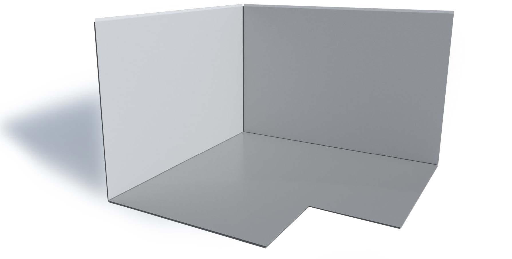 Doubleflex Below Grade Inside Corner