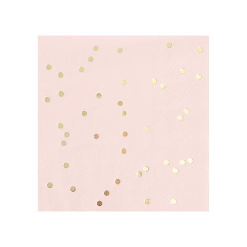 Blush Confetti Napkins