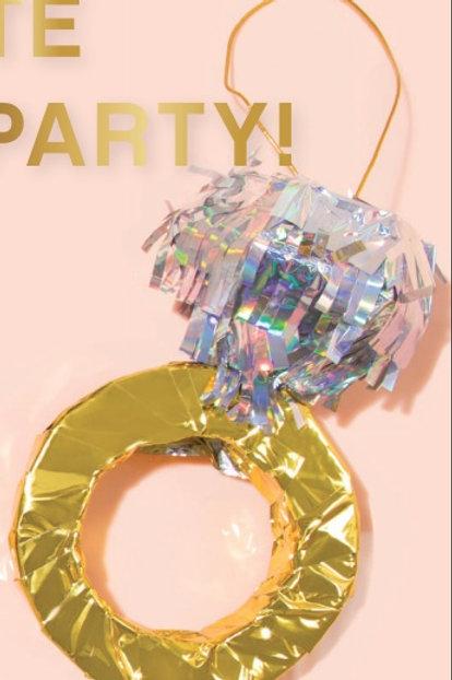 mini diamond ring piñata