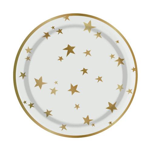 Star Dessert Plates