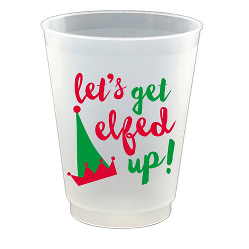 (8) pack of Elfed Up Frost Flex Cups