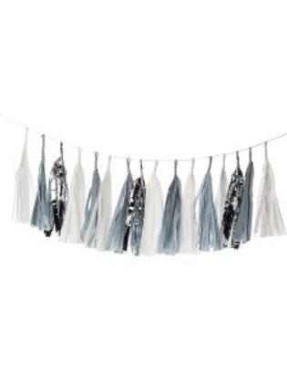 Silver Linings Tassel Garland