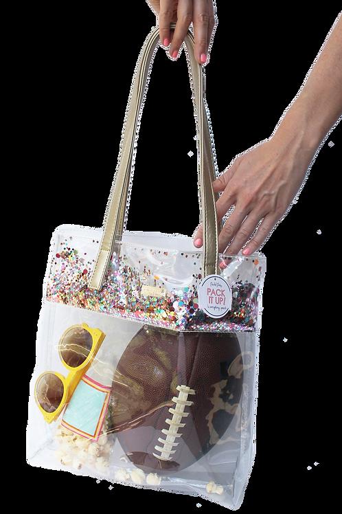 Stadium Bucket Bag (multicolored confetti)