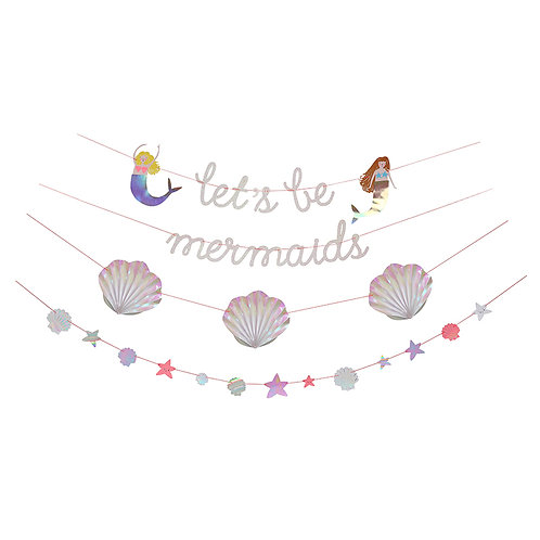 Let's Be Mermaid Garland