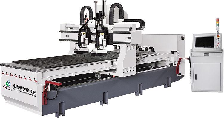 CNC 電腦鉋花機 YL-12242 R+R