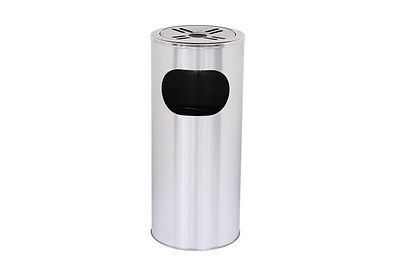 不銹鋼圓形垃圾桶
