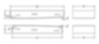 版型A:单面单向(S×H×L1/L2×5°)