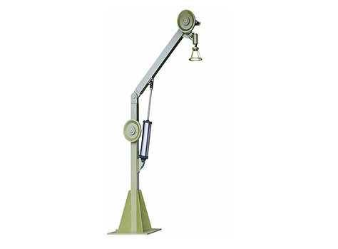 氣壓升降式供線柱