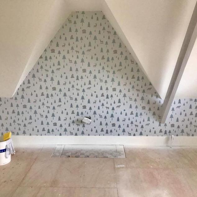 Painting & decorating,Wallpaper
