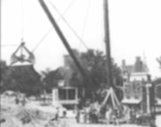 Minnesota State Capitol Construction Scene