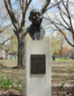 Frank Boyd Statue