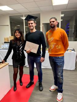 Cérémonie Remise des diplômes