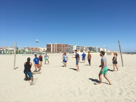 Beach-Volley à Palavas