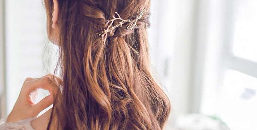 Branch hair clip