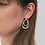 Thumbnail: A Weathered Penny Silver Willa earrings