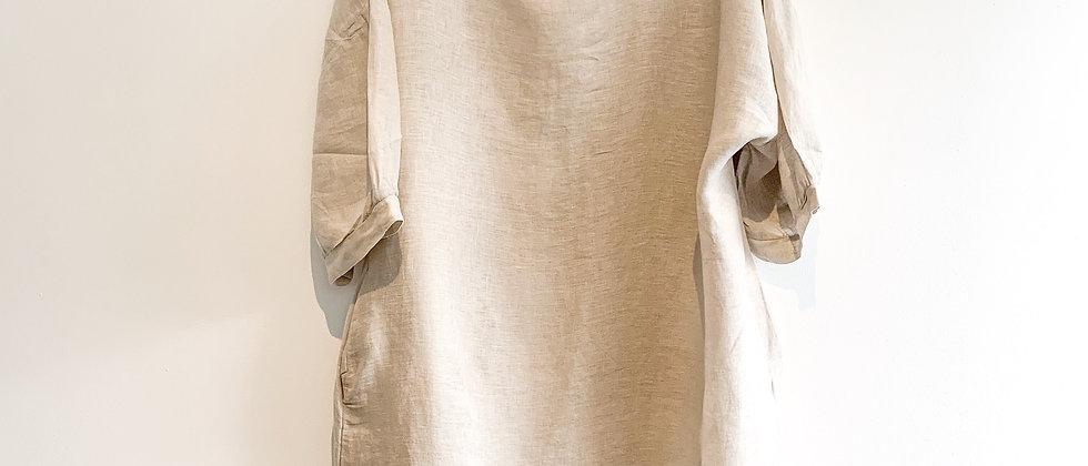 Mint & Molly Natural linen dress