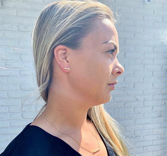 Goldbar earrings