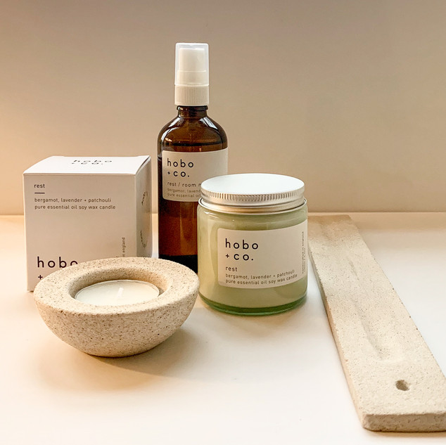 Relaxed at home giftset