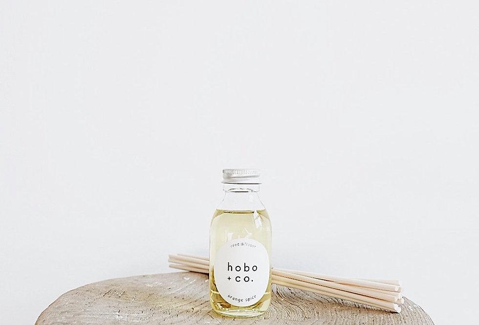 Hobo + Co Orange Spice reed diffuser