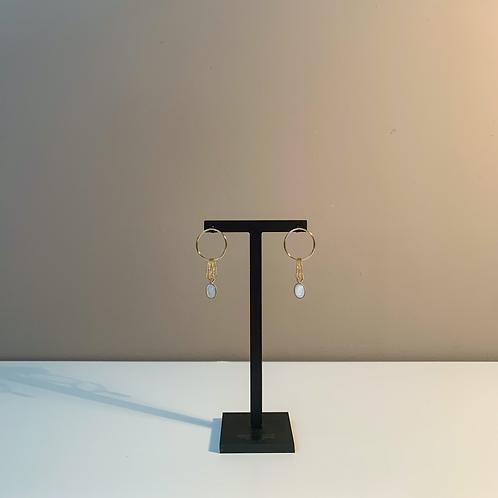 Fabien Ajzenberg Pearl earrings
