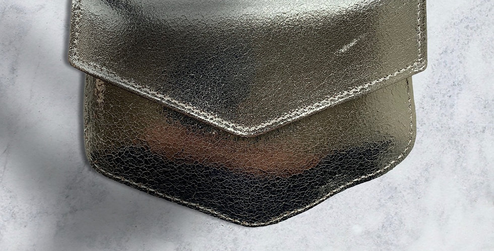 Mint & Molly Silver bag
