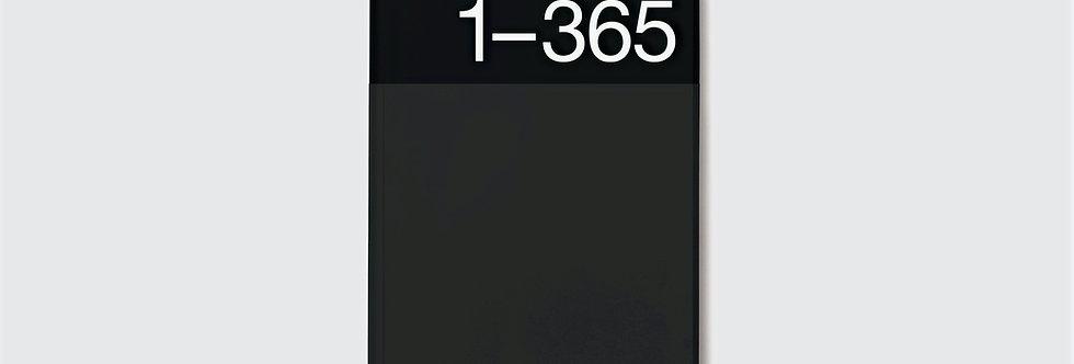 Journal 365 | Black Edition