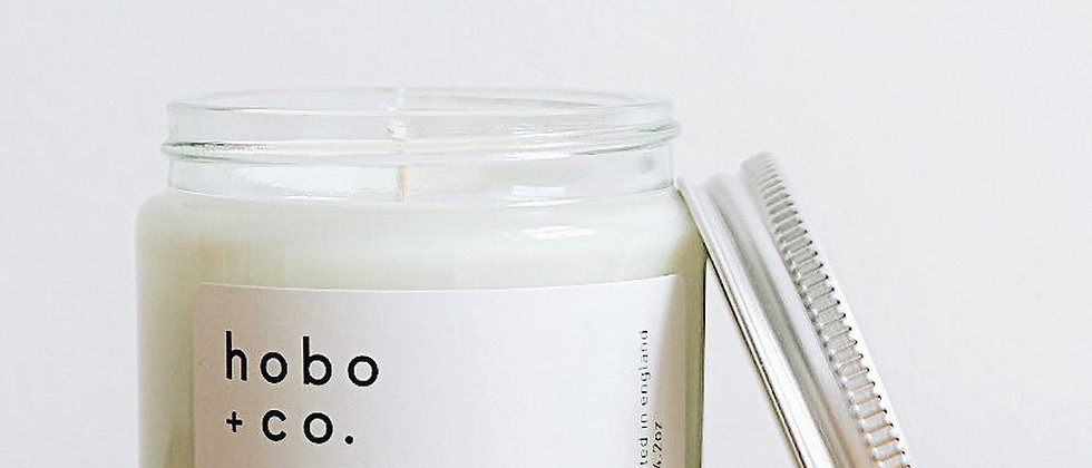 Hobo + Co Roam essential oil candle
