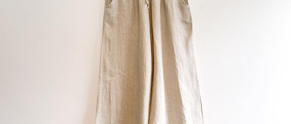Mint & Molly Natural linen pants
