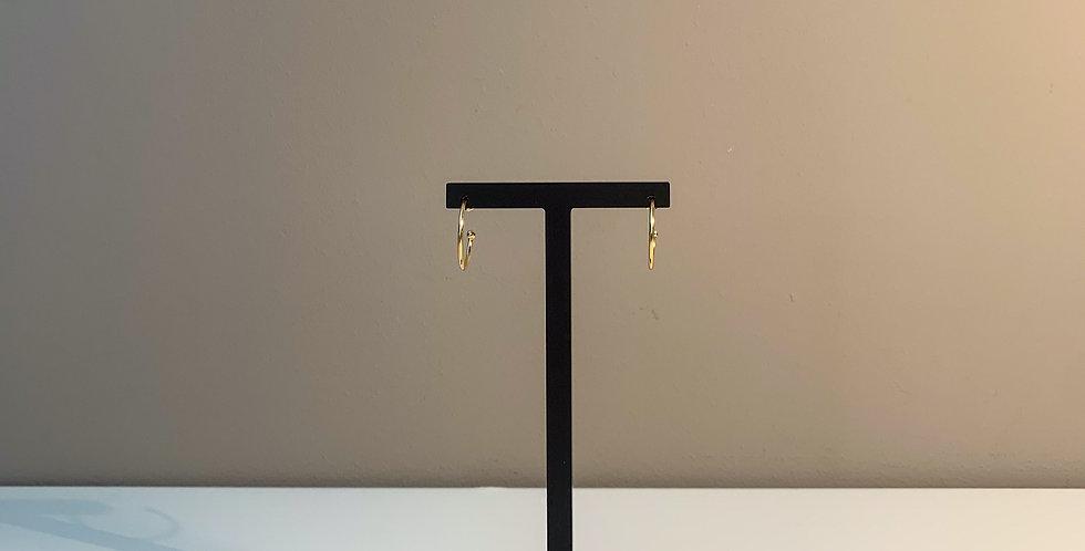Fabien Ajzenberg Classic hoop earrings