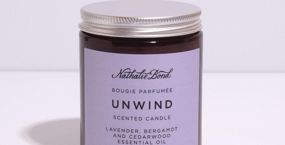 Nathalie Bond Unwind candle