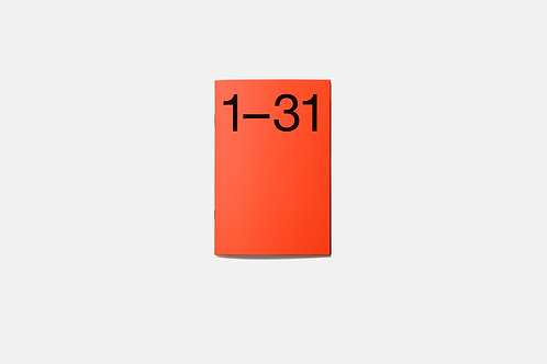 Journal 31 Mandarin | Set of three
