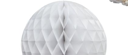 Delight Department White Honeycomb balls