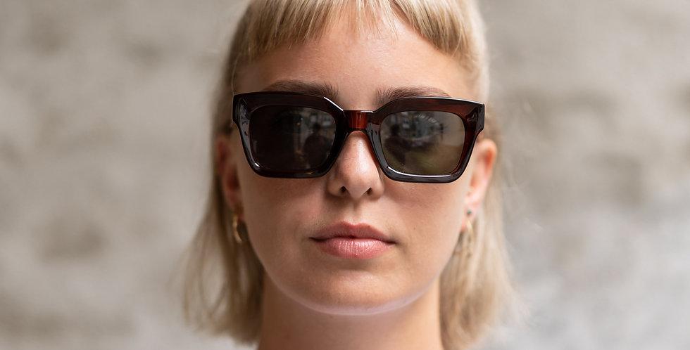 A. Kjaerbede Gigi dark brown sunglasses