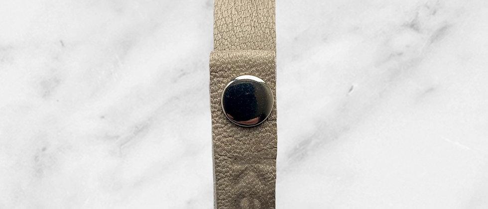 Keep Small leather bracelet