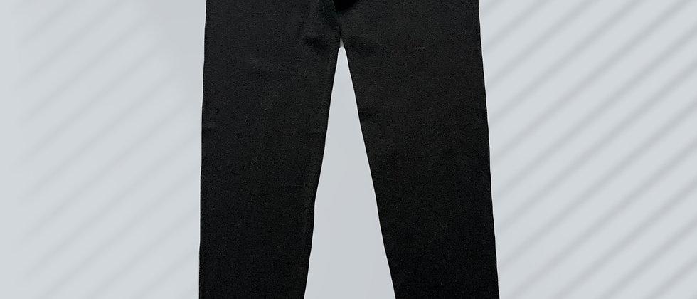 Mint & Molly Knitted black legging