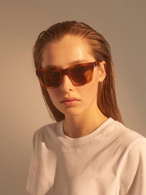 A. Kjaerbede Nancy demi-brown sunglasses