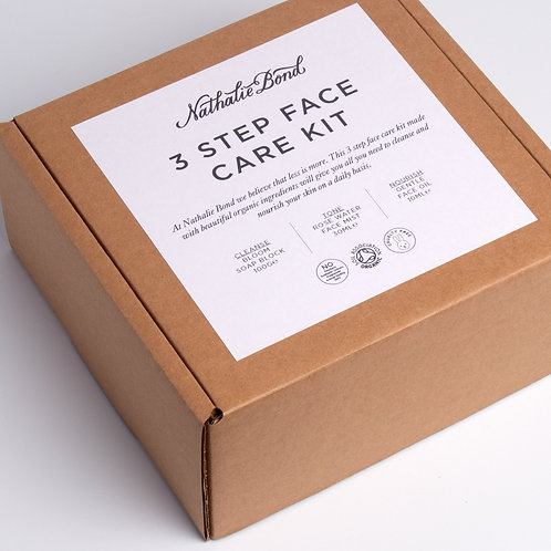 Nathalie Bond Bloom 3 Step Face care kit