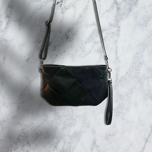 Mint & Molly squared leather bag