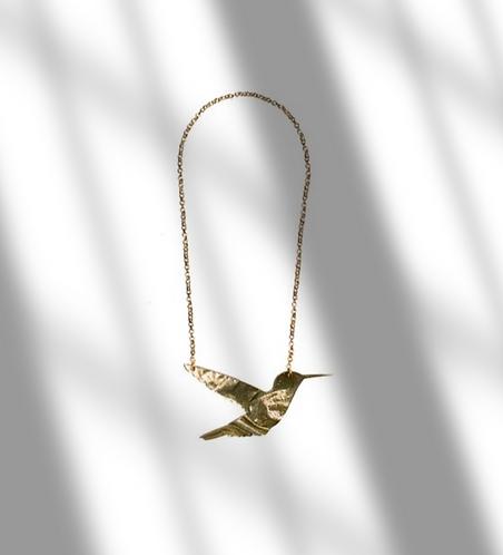 Les Petits Bisous Colibri necklace