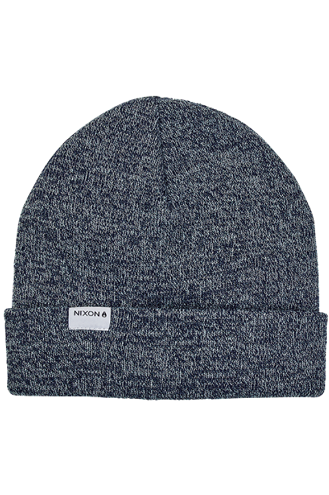 Logan Beanie Navy Heather