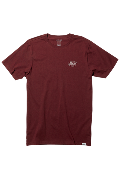 Axle S/S Burgundy Small