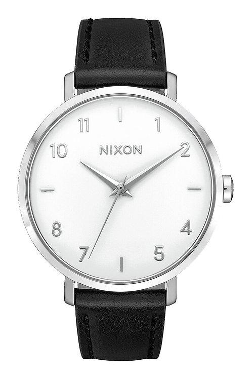 Arrow Leather Silver/White/Black