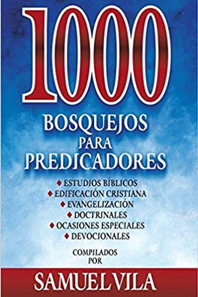 1000 bosquejos para predicadores