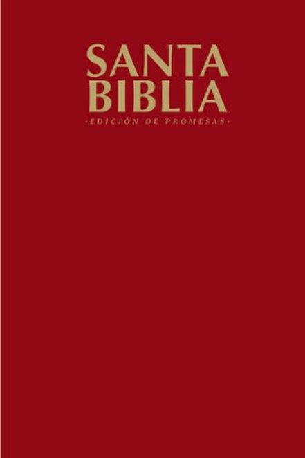 Biblia Edición De Promesas RVR 1960, Tapa Flexible Vino