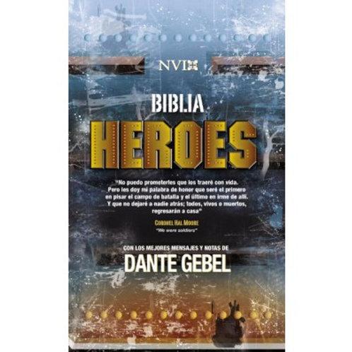 Biblia Héroes NVI, Tapa Dura