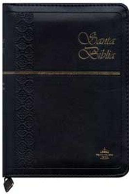 Biblia tamaño bolsillo zipper indice RVR 1960