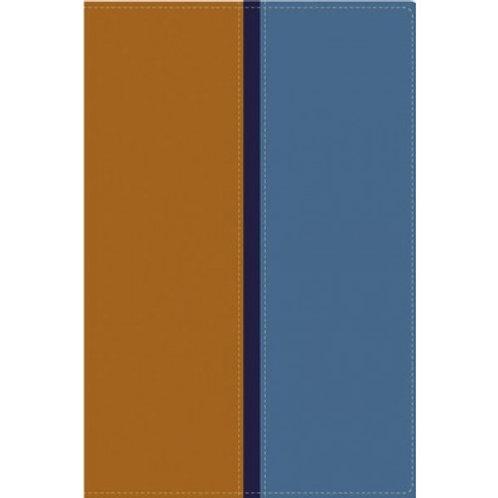Biblia Paralela RVR 1960 / NVI Piel Italiana