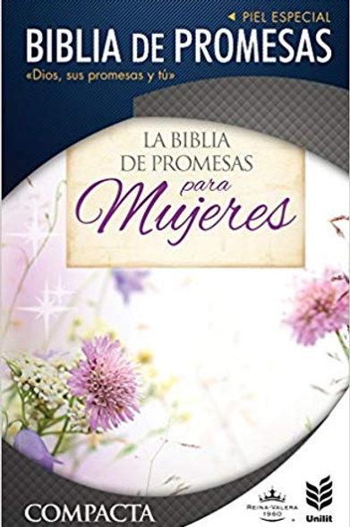 Biblia de promesas compacta piel especial RVR 1960