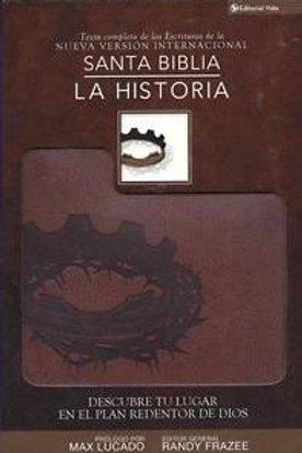 Biblia la historia NVI, piel italiana